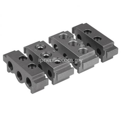 """ACCESSORIES FOR SERIES 70-- MODULAR MANIFOLD BASE 70 1/4"""""""