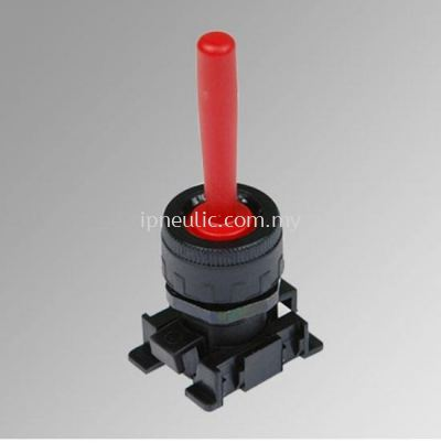 ACCESSORIES FOR SERIES 70-- RED HANDLER HORIZONTALLY PIVOTED LEVER