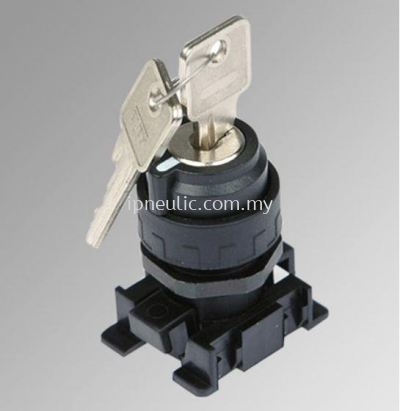 ACCESSORIES FOR SERIES 70-- 2 POS. KEY SELECTOR EXTRACTABLE KEY IN 2 POS..