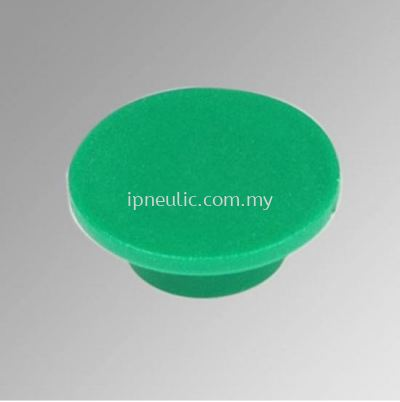 ACCESSORIES FOR SERIES 70-- GREEN DISK PUSHBUTTON