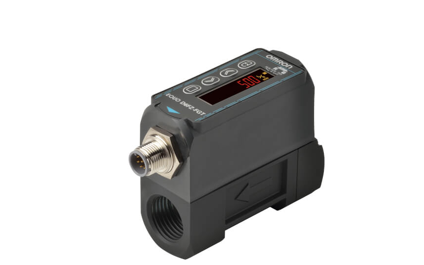 Omron D6FZ-FGT Series The best Product to Measure Compressed Air at Machine. Measurement of Leakage and Us