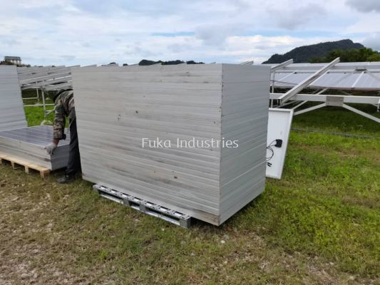 Galvanised Steel Pallet