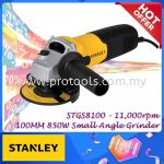 STGS8100 100MM 850W SLIDE SWITCH SMALL ANGLE GRINDER STANLEY STGS 8100 MESIN CANAI
