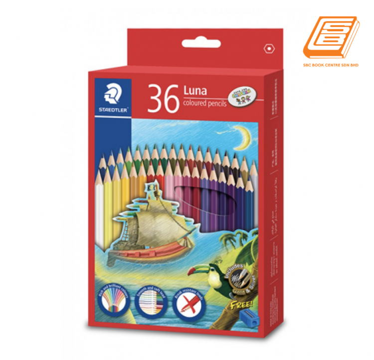 Stadtler - 36 Luna Coloured Pencils - (136C36)