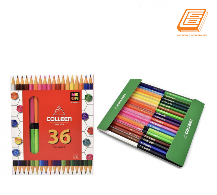 Colleen - 36 Neon Colours pencil - (No 787)