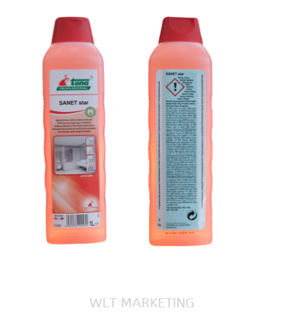 High Performance Sanitary Cleaner and Descaler - Sanet Star 1Lit