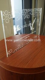 Engraved Acrylic Plate