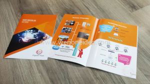 Booklet with Saddle Stitch