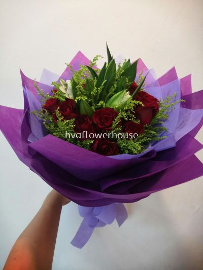 Red Rose Mix Lily