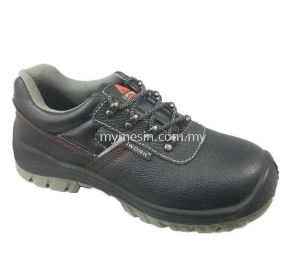 IWORK W9708 (Black) Safety Shoes  [Code:9684]