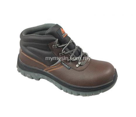 IWORK W9709 (Brown) Safety Shoes  [Code:9686]
