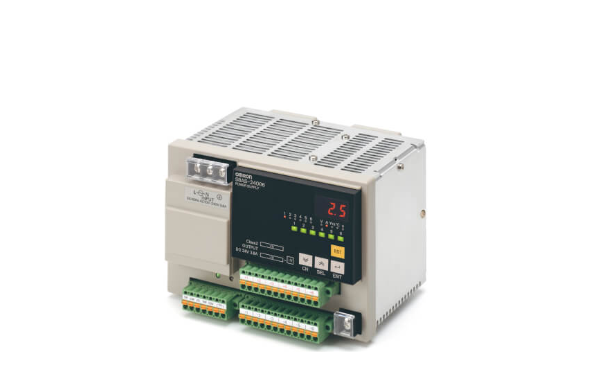 Omron S8AS A New Type of Power Supply That Provides Safety and Maintainability