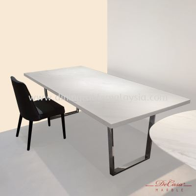 Sivec White | Greece | 8 seaters | Dining Table only | RM6,599