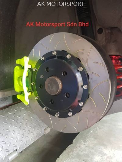 BREMBO REAR OVERSIXE 330MM AUDI TT