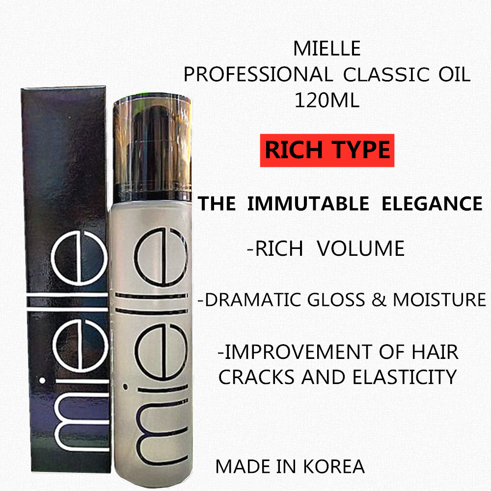 MIELLE PROFESSIONAL CLASSIC OIL 120 ML (RICH TYPE)