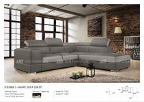 Vienna L-Shape Sofa (Fabric)_