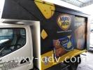 Mighty White Cheese Sugar Bun Lorry sticker Lorry Van Sticker