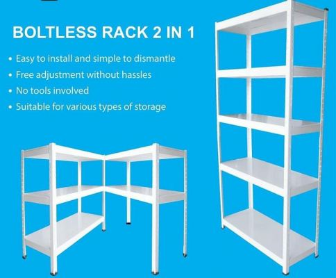 2 IN 1 Boltless Racking