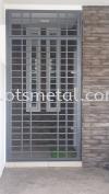 MD022 Metal Door (Grill)
