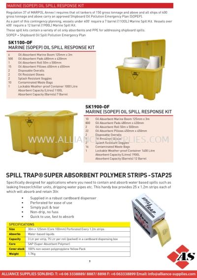 Marine (SOPEP) Oil Spill Response Kit