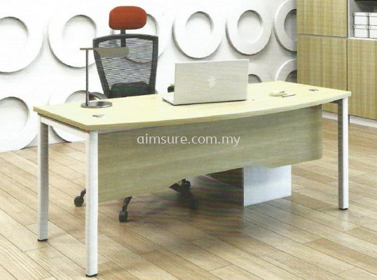 L Shape executive table AIM180A-SMB