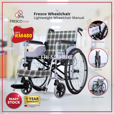 Fresco Lightweight Wheelchair Manual