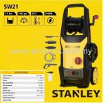 SW21 STANLEY HIGH PRESSURE WASHER 2100W 145BAR WATER JET CLEANER