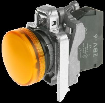 Integral LED Pilot Lamp (Yellow)