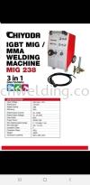 CHIYODA MIG-238 WELDING MACHINE  MIG WELDING MACHINE