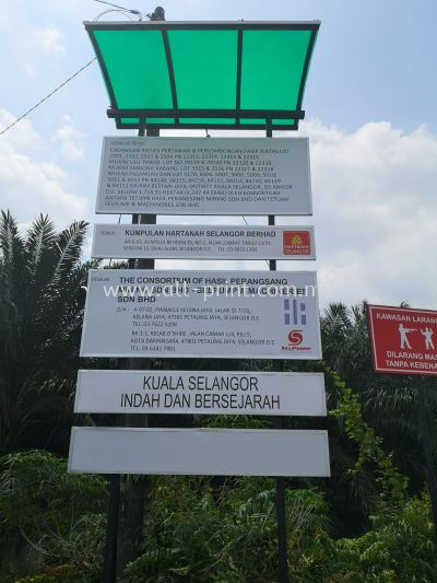 Hasil-project signage