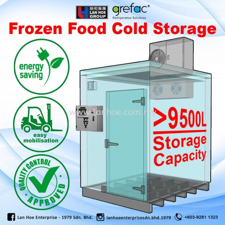 Mobile Cold Storage (>9000L Capacity)