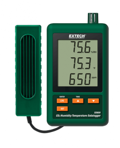 EXTECH SD800 : CO2, Humidity and Temperature Datalogger