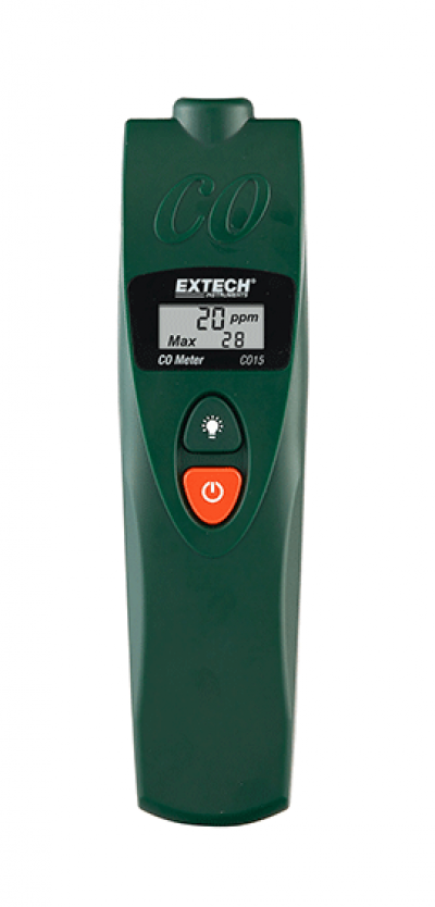 EXTECH CO15 : Carbon Monoxide (CO) Meter