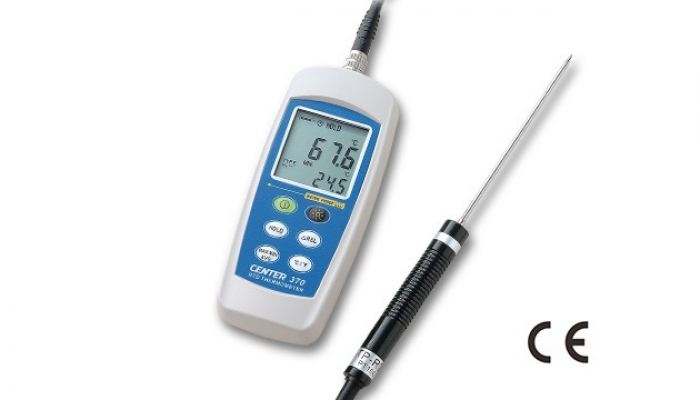 CENTER 370 PT100 THERMOMETER (water proof)