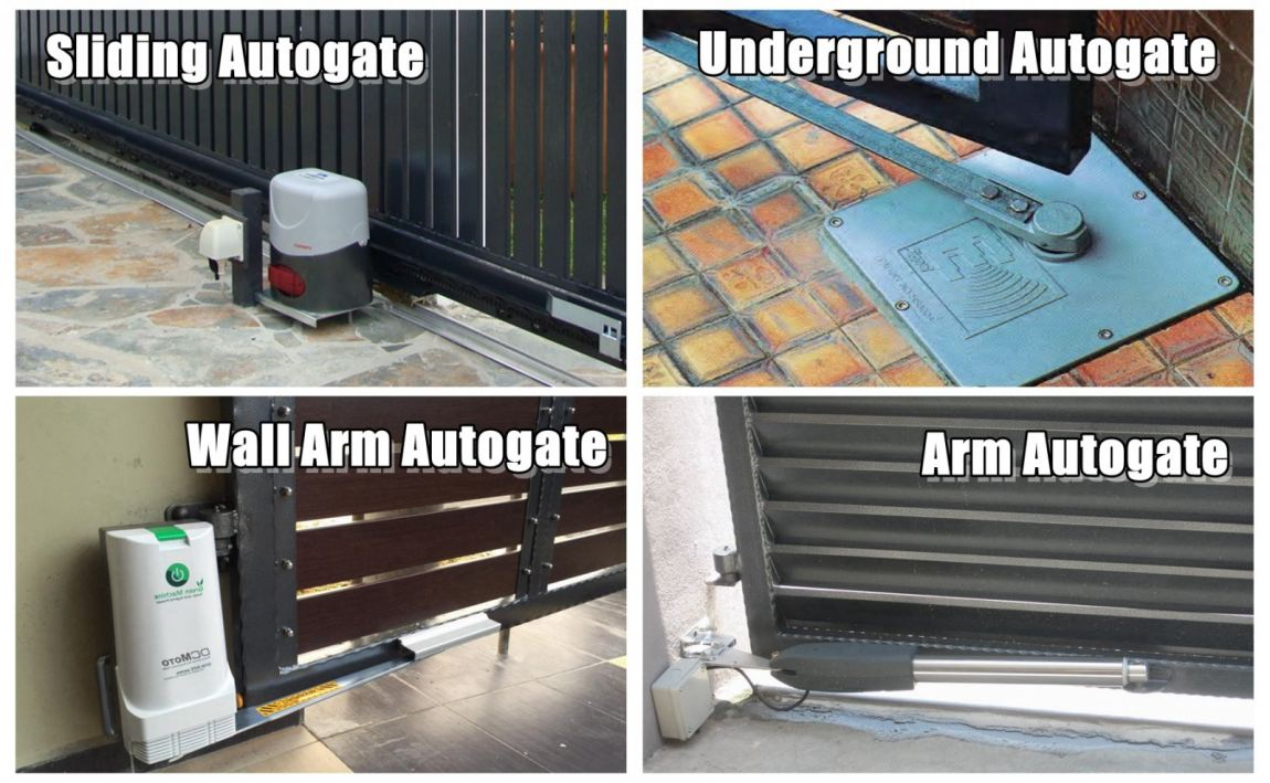 Commonly Autogate System Type For Home Used Auto Gate System Electrical Appliances About Renovation