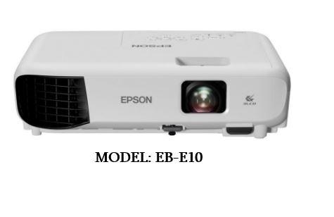 Epson Projector (Model: EB-E10) PROJECTOR