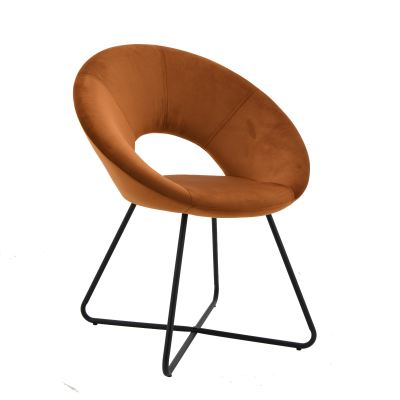 Metal Design Dining Chair RCF