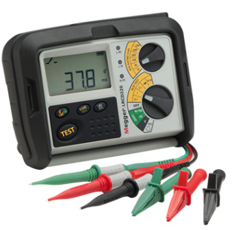 MEGGER LRCD210 AND LRCD220 Combined Loop and RCD Testers
