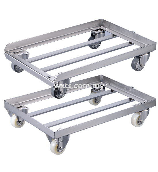 Stainlee Steel Trolley with Wheel