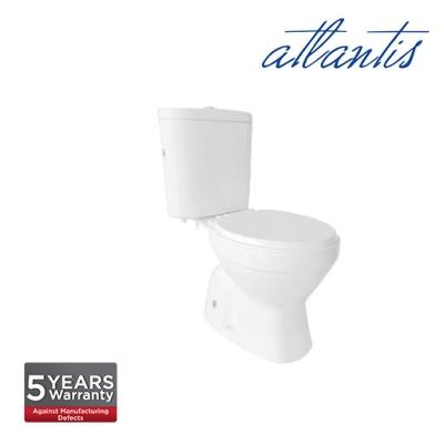 Atlantis Narva Light Duty Toilet Seat Cover Close Couple Wash Down Pedestal Water Closet WC2001S