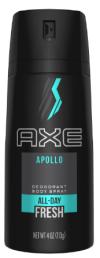 Axe Spray Deodorant 150ml Apollo Axe Spray Deodoran