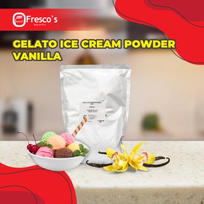Gelato Hard Ice Cream Powder 1KG VANILLA