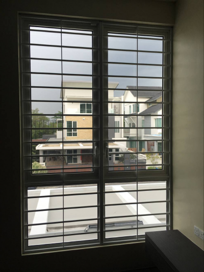 Sample For 2 In 1 Window Grille & Insect Screen