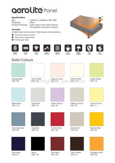 Panel Colour Chart 3