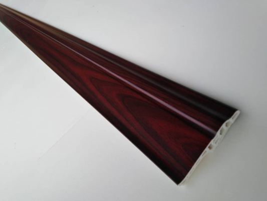 70mm PVC Skirting - Dark Cherry (PSK70-1010)