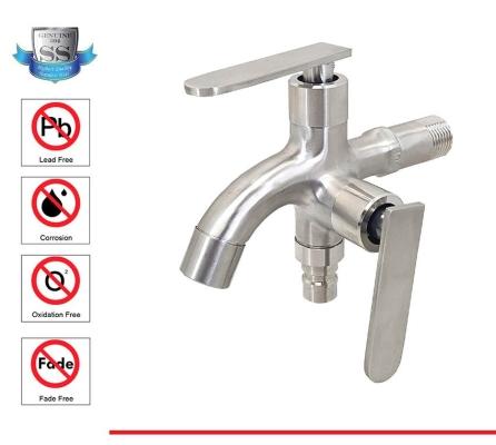 SL SUS304  390-5113  S/STEEL TWO WAY TAP -00917RA