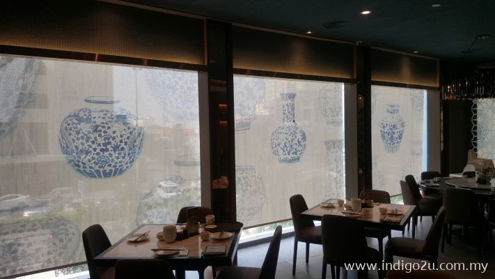 ROLLER BLINDS WITH DESIGN