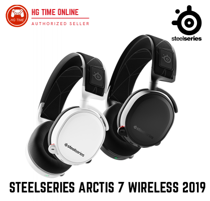 Steelseries Arctis 7 Black / White WIRELESS 2019 Edition