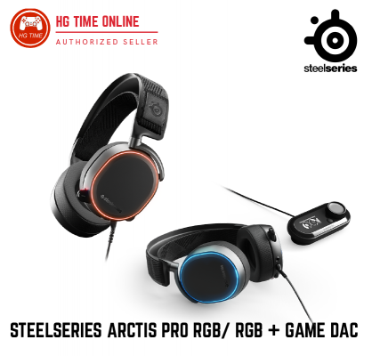 Steelseries Arctis Pro RGB/ RGB + Game DAC