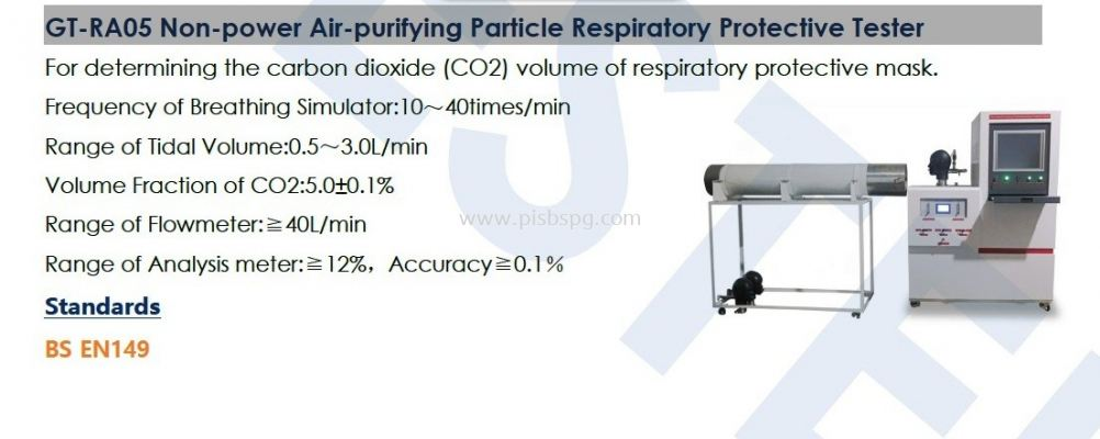 Air Purifying Particle Respiratory Protective Tester
